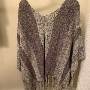 Charlotte Russe Tops - Knit Pancho